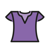 Woman's Clothes on OpenMoji 1.0