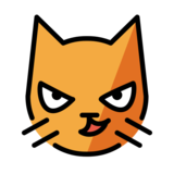 Cat with Wry Smile on OpenMoji 12.0
