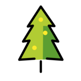 Christmas Tree on OpenMoji 12.0