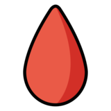 Drop of Blood on OpenMoji 12.0