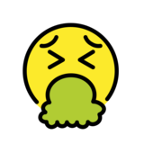 Face Vomiting on OpenMoji 12.0