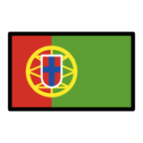 Flag: Portugal on OpenMoji 12.0