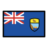 Flag: St. Helena on OpenMoji 12.0