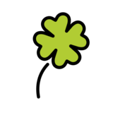 Four Leaf Clover on OpenMoji 12.0