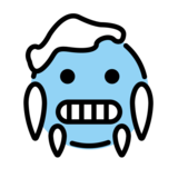 Cold Face on OpenMoji 12.0