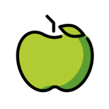 Green Apple on OpenMoji 12.0