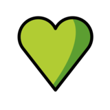 Green Heart on OpenMoji 12.0