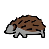 Hedgehog on OpenMoji 12.0