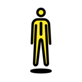 Person in Suit Levitating on OpenMoji 12.0