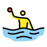 Man Playing Water Polo on OpenMoji 12.0