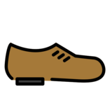 Man's Shoe on OpenMoji 12.0