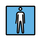 Men's Room on OpenMoji 12.0