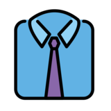 Necktie on OpenMoji 12.0