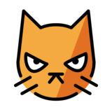 Pouting Cat on OpenMoji 12.0