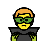 Supervillain on OpenMoji 12.0