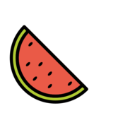 Watermelon on OpenMoji 12.0
