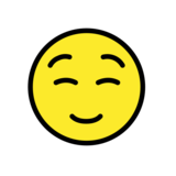 Smiling Face on OpenMoji 12.0