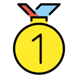 1st Place Medal on OpenMoji 12.2