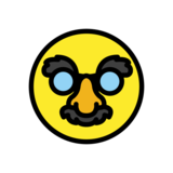 Disguised Face on OpenMoji 12.2