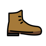 Hiking Boot on OpenMoji 12.2