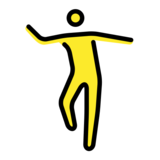 Man Dancing on OpenMoji 12.2