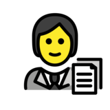 Office Worker on OpenMoji 12.2