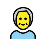 Older Person on OpenMoji 12.2