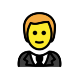 Person in Tuxedo on OpenMoji 12.2