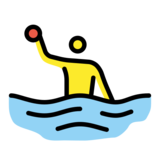 Person Playing Water Polo on OpenMoji 12.2
