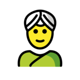 Person Wearing Turban on OpenMoji 12.2