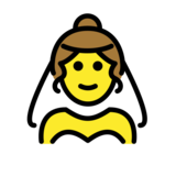 Person With Veil on OpenMoji 12.2