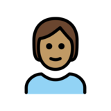 Person: Medium Skin Tone on OpenMoji 12.2