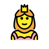 Princess on OpenMoji 12.2