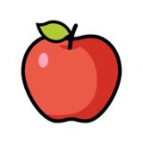 Red Apple on OpenMoji 12.2