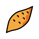 Roasted Sweet Potato on OpenMoji 12.2