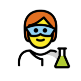 Scientist on OpenMoji 12.2