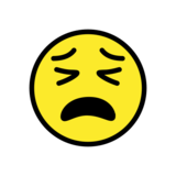 Tired Face on OpenMoji 12.2
