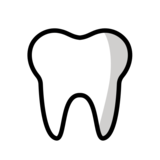 Tooth on OpenMoji 12.2