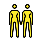 Women Holding Hands on OpenMoji 12.2