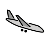 Airplane Arrival on OpenMoji 12.3