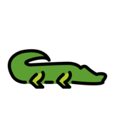 Crocodile on OpenMoji 12.3