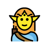 Man Elf on OpenMoji 12.3