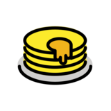 Pancakes on OpenMoji 12.3
