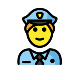 Police Officer on OpenMoji 12.3