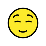 Smiling Face on OpenMoji 12.3