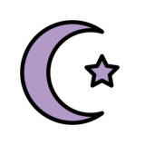 Star and Crescent on OpenMoji 12.3