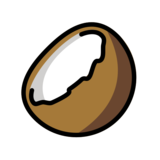 Coconut on OpenMoji 13.0