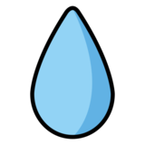 Droplet on OpenMoji 13.0