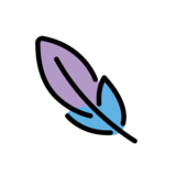 Feather on OpenMoji 13.0