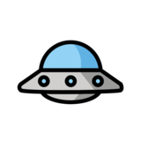 Flying Saucer on OpenMoji 13.0